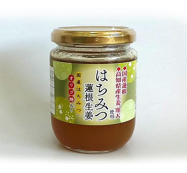 はちみつ蓮根生姜