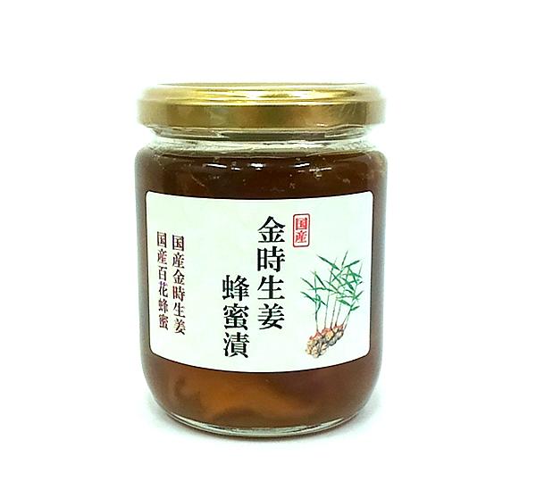 金時生姜蜂蜜漬